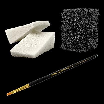 Applicator Sponge & Brush Kit