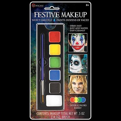 Festive 6 Color Makeup Palette