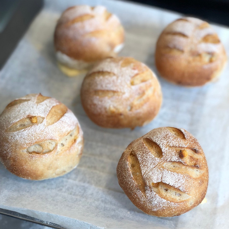 【NEW!】 ホシノ天然酵母でパン作り   🍊オランジュ🍊
