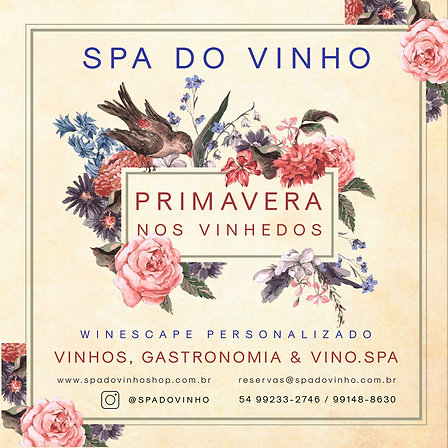 Winescape Primavera nos Vinhedos