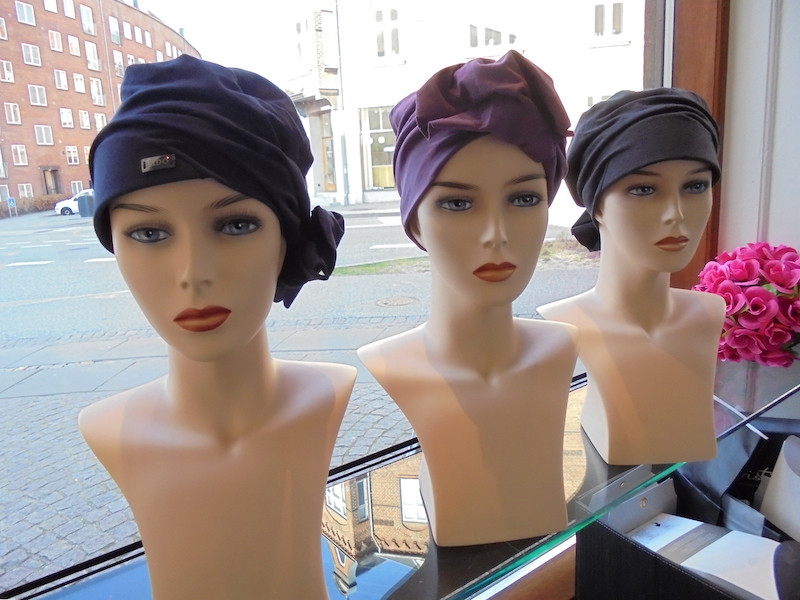 Vinduesudstilling hos Hairpassion