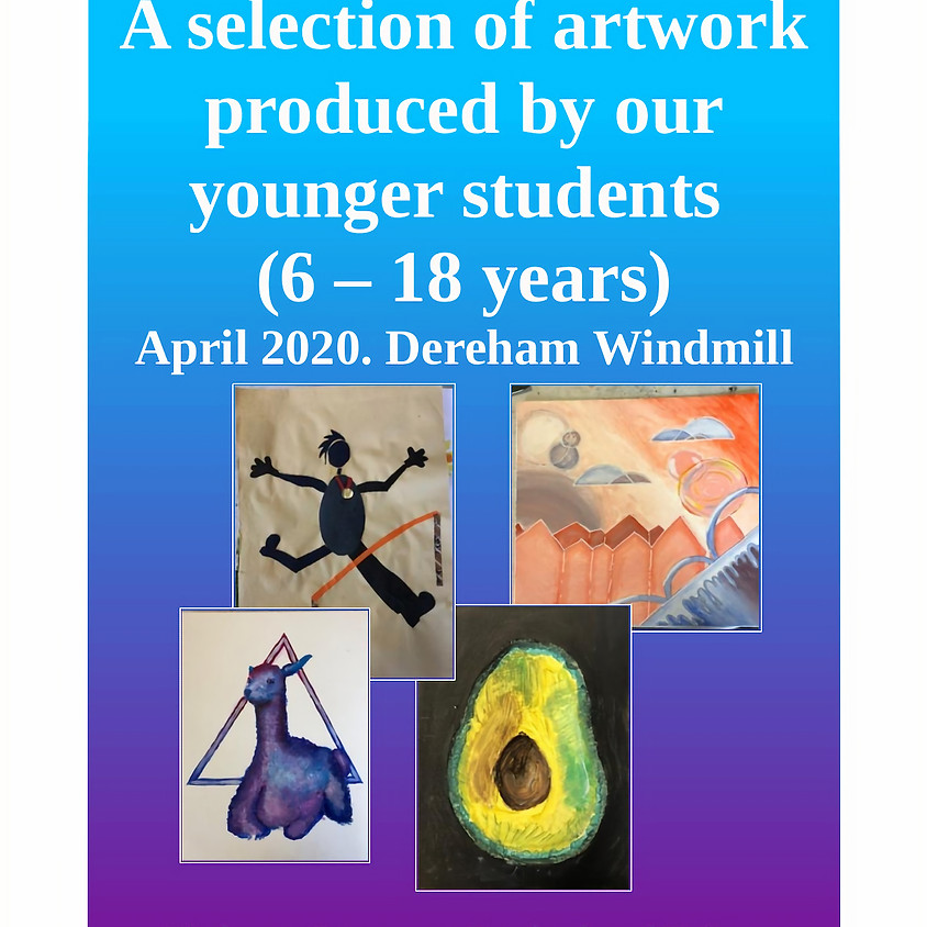 Art for All -A display of young people's artwork -April