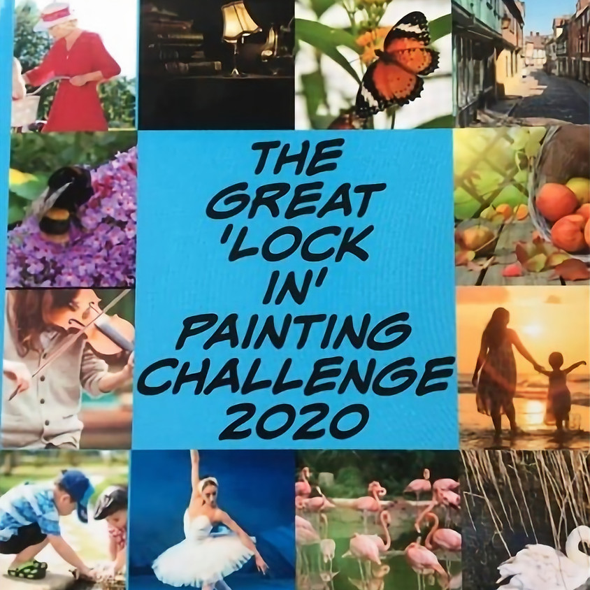 Art 4 All Norfolk - The Great Lock In Painting Challenge 2020 exhibition