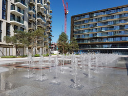 London Dock Water Feature