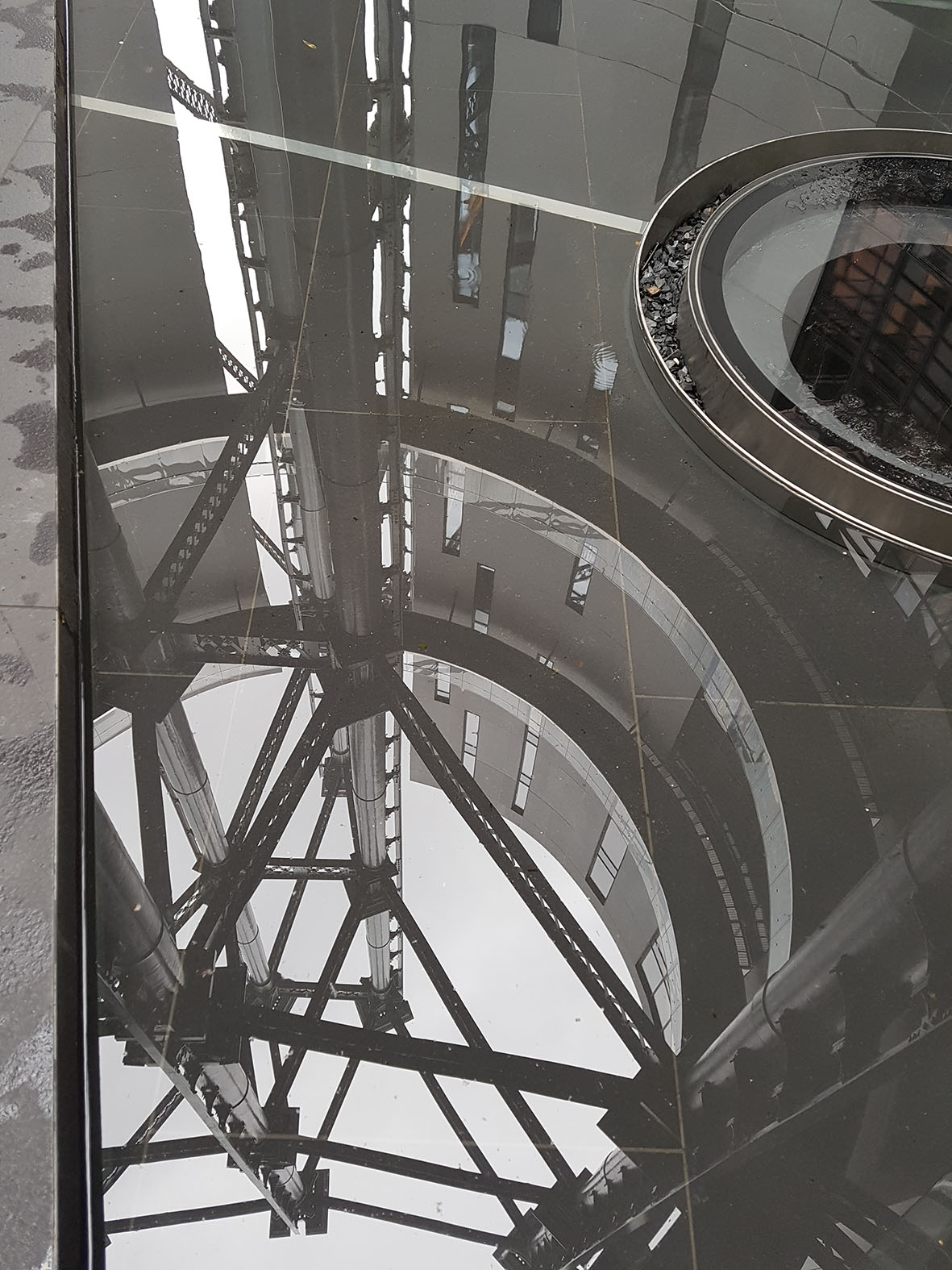 Gas Holder Reflections