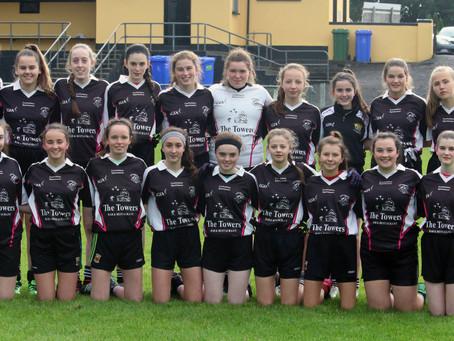 Hard luck to U-16 girls in their league semi-final.