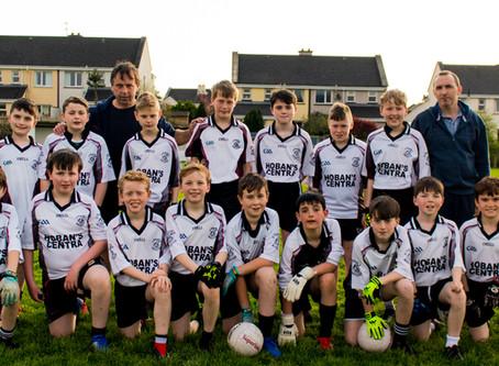 Kilmeena U-12 boys win local Derby.
