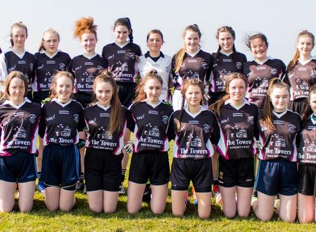 U-16 Girls defeated in Belmullet.