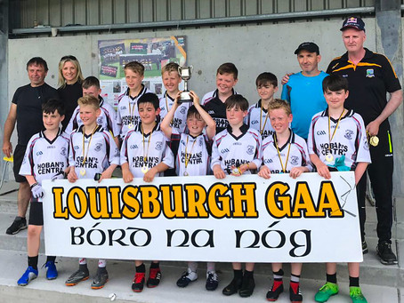 U-12 Boys win Eoin McGroddy Memorial Blitz.