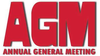 Club AGM Saturday 24th November at 7:30 pm.