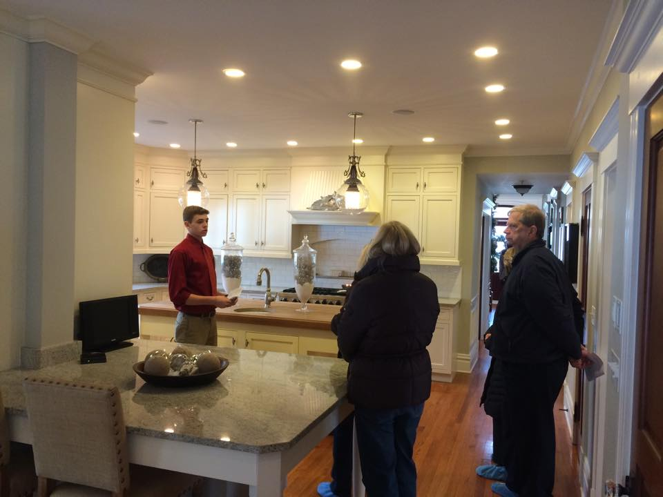 Guided Tours throughout the homes