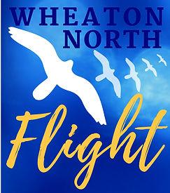 Wheaton North Flight Logo