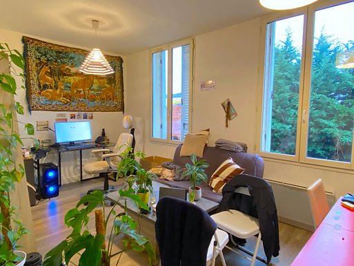Appartement T2 - 41m2 - Boreaux Barrière d'Arès