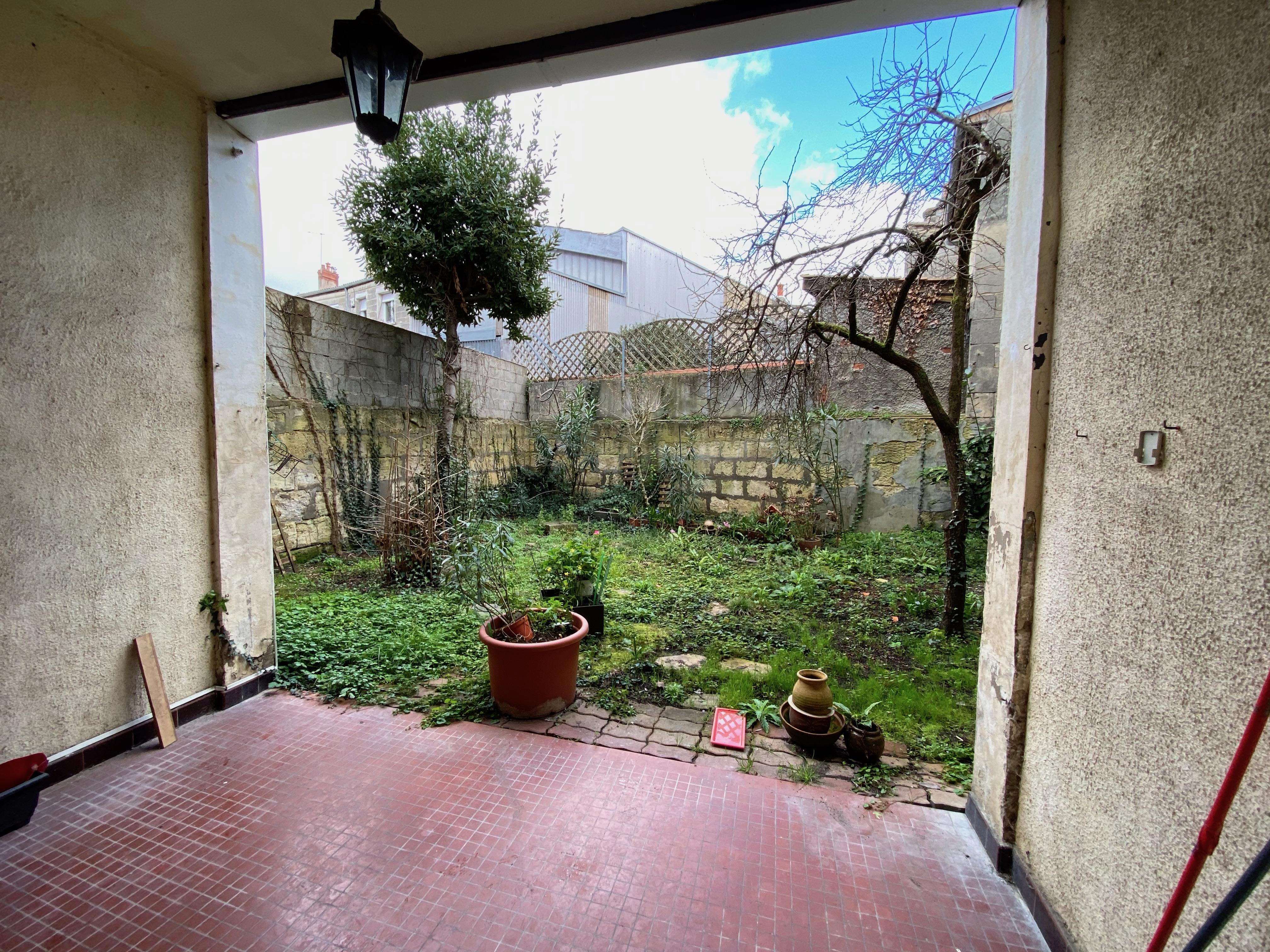 Terrasse - T2 Bordeaux Saint Genès