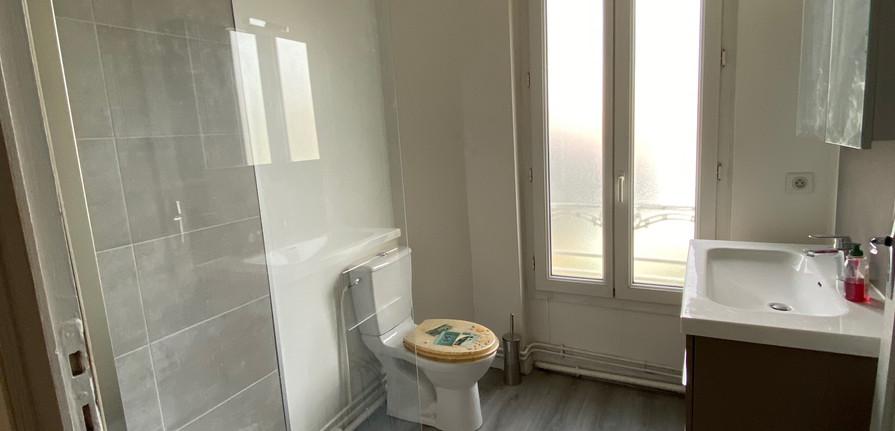 Salle d'eau - T3 Bordeaux Saint - Genès