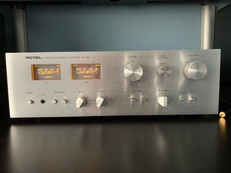 Vintage Audio: Back to the 70s with the Rotel RA-314 Integrated Amplifier!