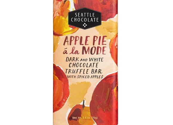 Apple Pie a La Mode Truffle Bar