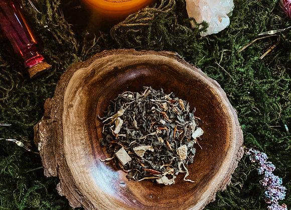 Garden Witch: Ginger Orange Peach Green Tea