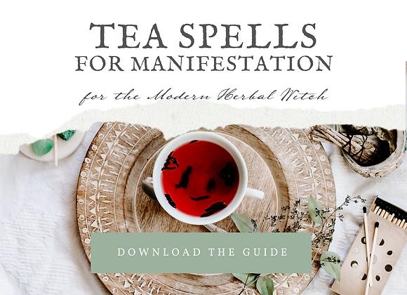 Tea Spells for Manifestation Guide Book