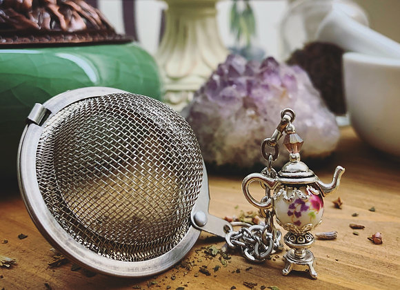 Teapot Charm Infuser