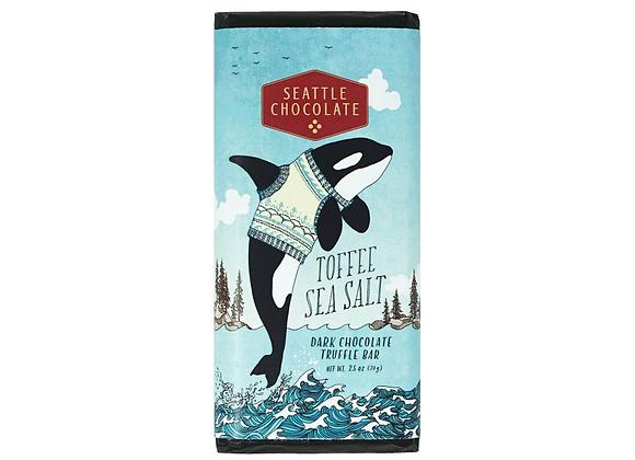 Toffee Sea Salt Truffle Bar