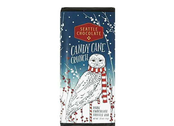 Candy Cane Crunch Truffle Bar