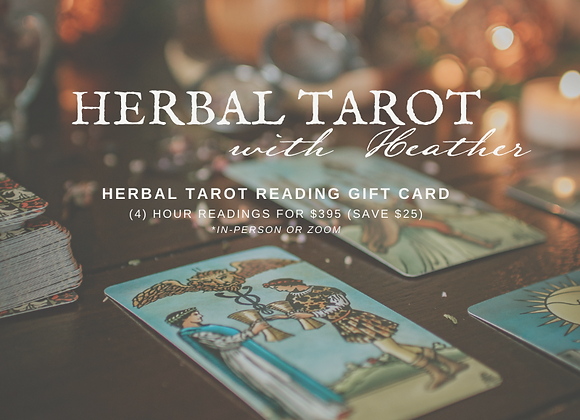 Herbal Tarot Gift Card SPECIAL