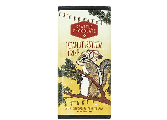 Peanut Butter Crisp Truffle Bar