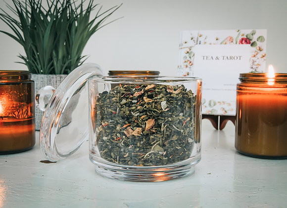 Green Witch: Sage Green Tea