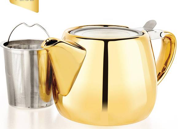 Porcelain Teapot Infuser 34 oz