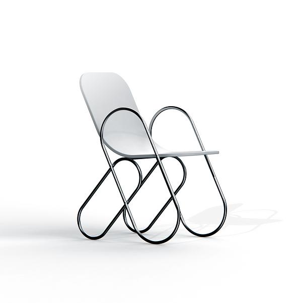 Andrew Edge Design Clip Chair