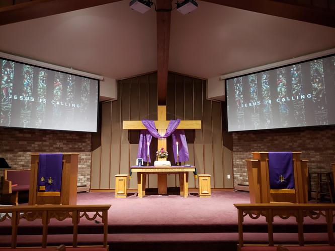 Lenten Chancel