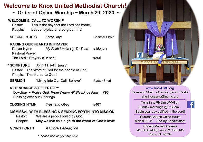 2020-03-29 bulletin for online worship w