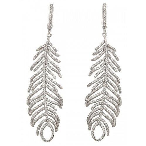 Carina Sterling Silver & CZ Earrings