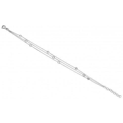 Constelacion Sterling Silver & CZ Bracelet