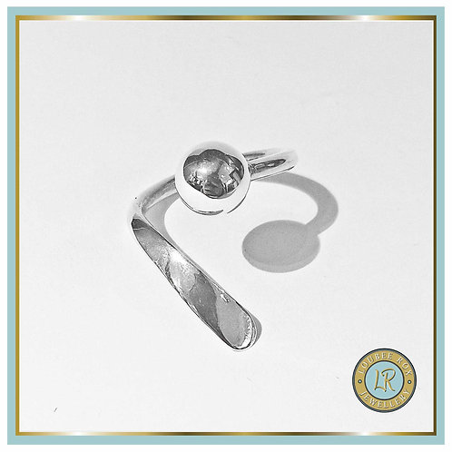 Ball and Hammer Ring