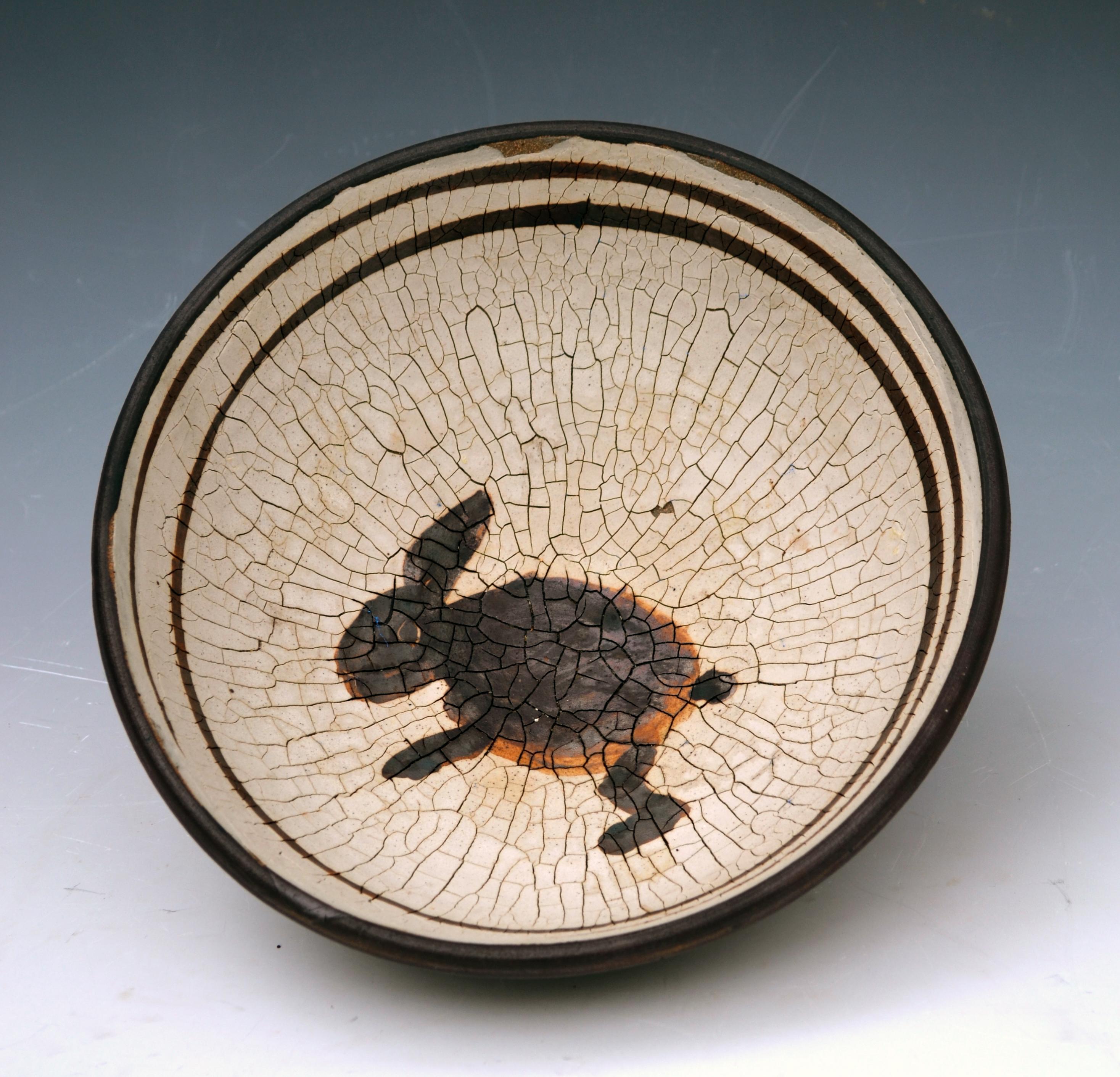 anasazi inspired bowl with rabbit