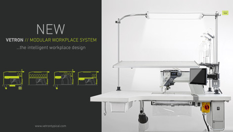 NEUES VETRON MODULAR WORKPLACE SYSTEM