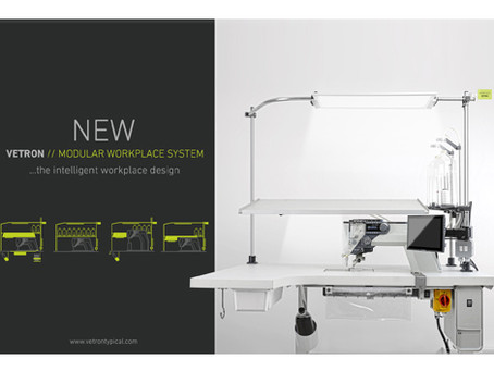 NEW VETRON MODULAR WORKPLACE SYSTEM