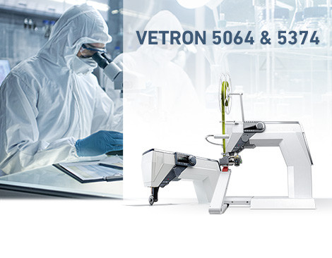 VETRON 5064 & 5374, the best solution for the production of protective suits.