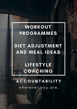 Workout Programmes Diet adjustment and m