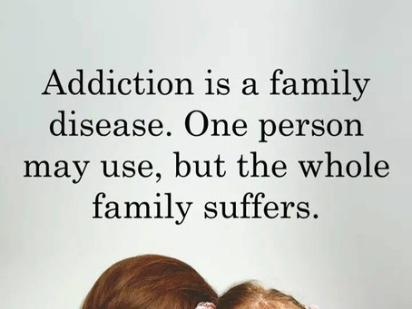 The whole family suffers in addiction