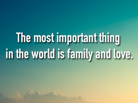Family can be the inspiration in which addicts/alcoholics choose recovery