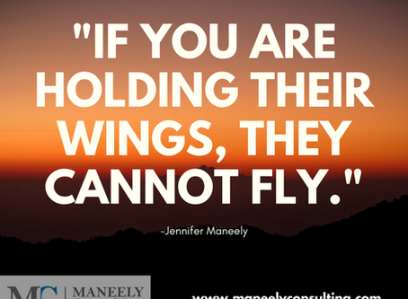 """""""If you are holding their wings, they cannot fly"""""""