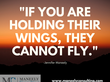 """If you are holding their wings, they cannot fly"""
