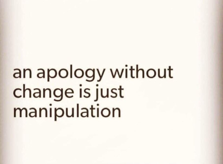 If they don't plan on changing, they shouldn't apologize.