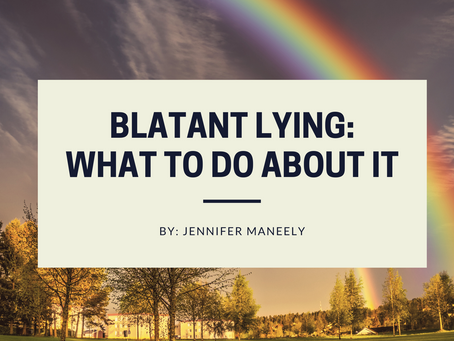 Blatant Lying: What To Do About It?