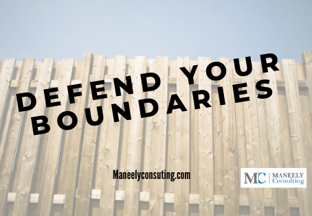 Why your boundaries may be getting crossed.