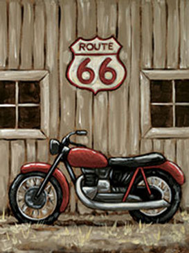 VINTAGE MOTORCYCLE (PAINTING KIT/PARTY)