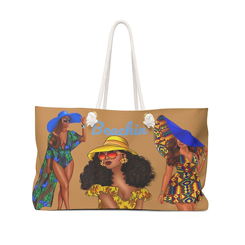 BEACHIN WEEKENDER BEACH BAG Customizable